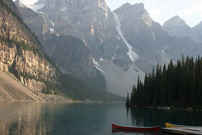 Photograph - Moraine Lake 2 by Betty-Anne McDonald
