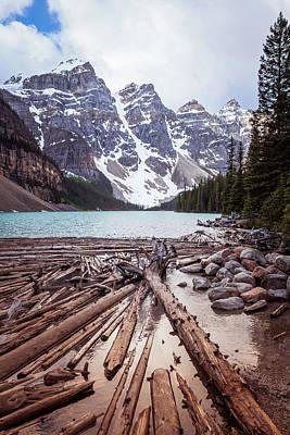 Photograph - Moraine Lake, Banff National Park by Astrid Hinderks