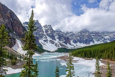 Photograph - Moraine Lake Canada by David Arment