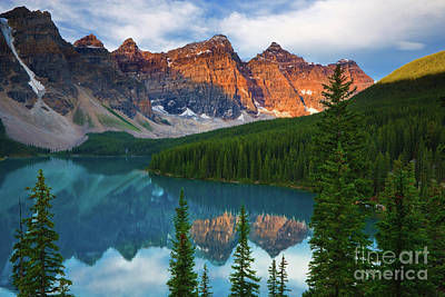 Moraine Lake - Canada Art Print by Henk Meijer Photography