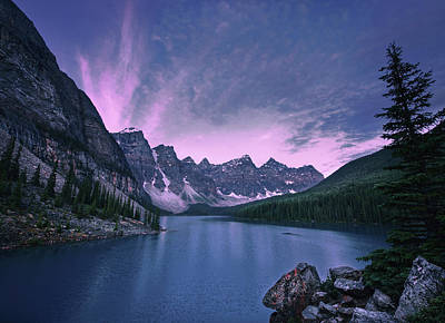 Photograph - Moraine Lake by Dan Jurak