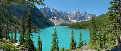 Gigapan Photograph - Moraine Lake by Dave Belcher