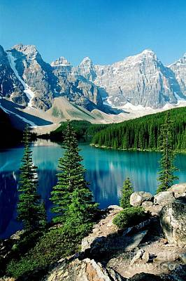 Photograph - Moraine Lake by Frank Townsley