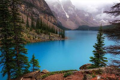 Photograph - Moraine Lake by Heather Vopni