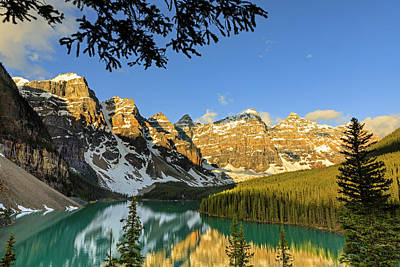 Photograph - Moraine Lake by Jack Bell