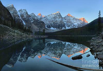 Photograph - Moraine Lake Morning by Adam Jewell