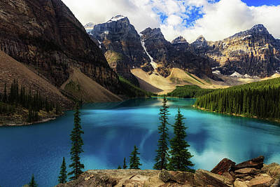 Photograph - Moraine Lake by Rick Furmanek
