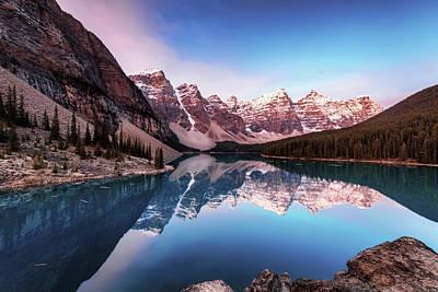 Photograph - Moraine Lake by Scott Masterton