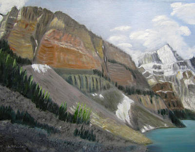 Painting - Moraine Lake View by Linda Feinberg
