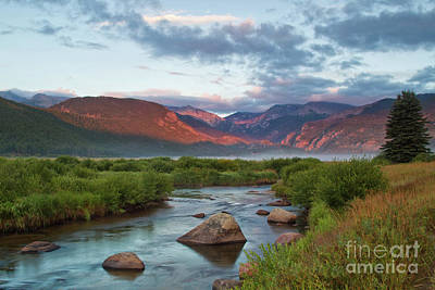 Big Thompson River Photograph - Moraine Park Glow by Ronda Kimbrow