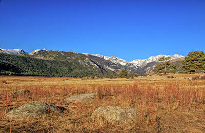 Photograph - Moraine Park In Rocky Mountain National Park by Peter Ciro