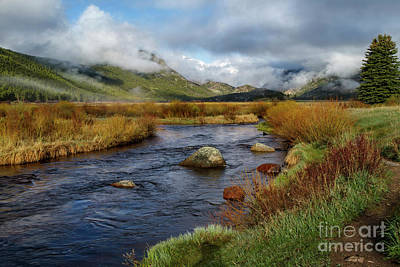 Moraine Park Morning - Rocky Mountain National Park, Colorado Art Print by Ronda Kimbrow