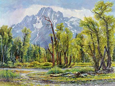Moran From Pilgrim Creek Original by Steve Spencer