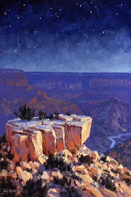 Arizona Painting - Moran Nocturne by Cody DeLong