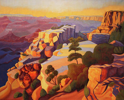 Painting - Moran Point Grand Canyon by Ruth Soller
