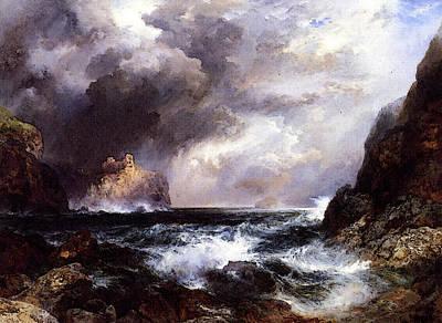 Moran Thomas Tantallon Castle North Berwick Scotland Art Print