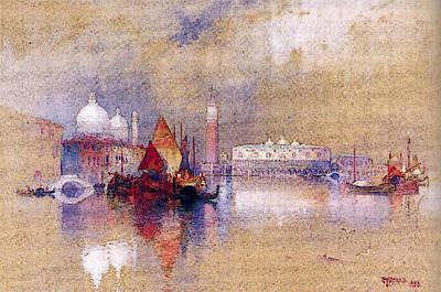 Moran Thomas View Of Venice Art Print