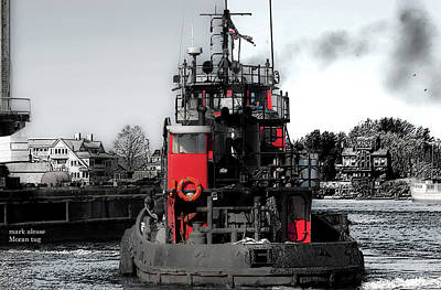 Photograph - Moran Tug by Mark Alesse