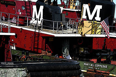 Photograph - Moran Tugs by Mark Alesse