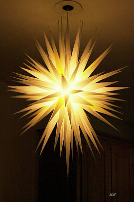 Photograph - Moravian Star by Lee Hartsell