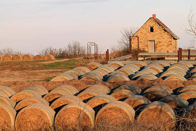Photograph - More Bales by Betty Morgan