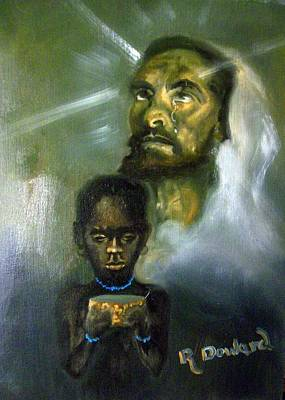 Painting - More Blessed To Give by Raymond Doward