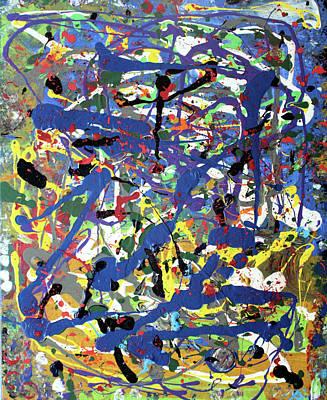 Wall Art - Painting - More Blueness by Pam Roth O'Mara