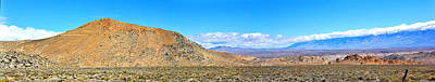 Photograph - More Buttermilks Pano by Marilyn Diaz