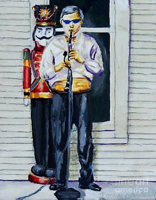 Painting - More Cajun Music by Jock McGregor