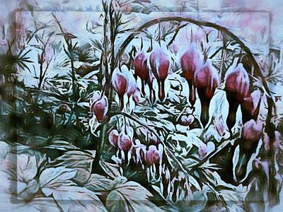 Digital Art -  More Drops Of Fervor by Leslie Montgomery