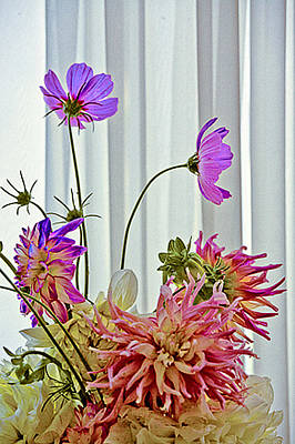 More Formal Flowers Art Print by John Toxey