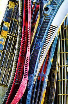 Photograph - More Junk Yard Treasure by Venetia Featherstone-Witty