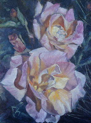 Painting - More Of Max's Roses by Candi Hogan