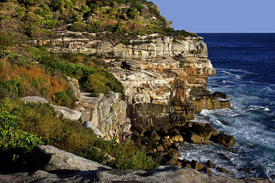 Photograph - More Of North Head Cliff by Miroslava Jurcik