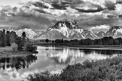 Teton Digital Art - More On The Mountain II by Jon Glaser