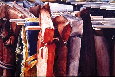 Painting - More Pfd by Barbara Pease