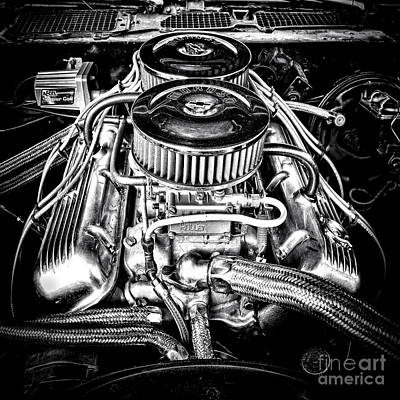 Big Block Chevy Photograph - More Power by Olivier Le Queinec