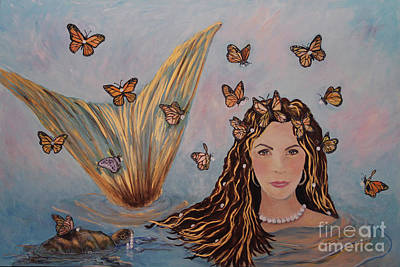 Painting - More Precious Than Gold by Linda Queally