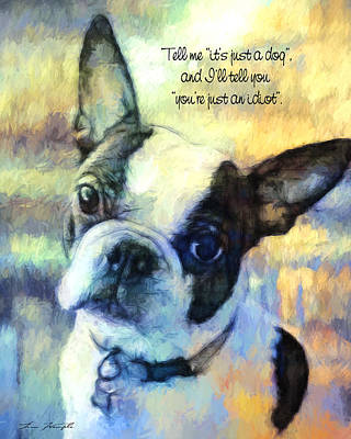 Terrier Digital Art - More Than A Dog by Andy's Paw Prints