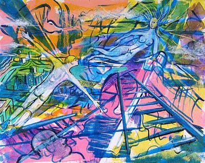More Than A Dream Art Print by Rollin Kocsis