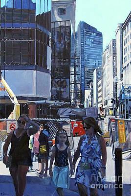 More Than Buildings Original by Deb Putnam