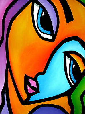 More Than Enough - Abstract Pop Art By Fidostudio Art Print by Tom Fedro - Fidostudio