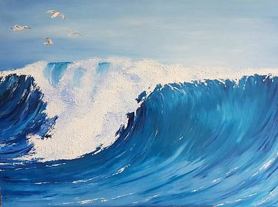 Painting - More Than The Waves Grow by Mira Cooke