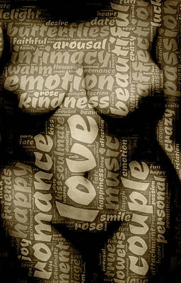 Digital Art - More Than Words by James Barnes