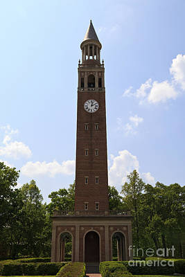 Photograph - Morehead-patterson Bell Tower by Jill Lang
