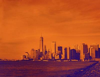 Abstract Skyline Photograph - More by G Nouri