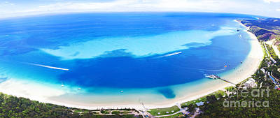 Photograph - Moreton Island Aerial View by Jorgo Photography - Wall Art Gallery