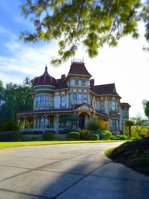 Photograph - Morey Mansion - Small Town America by Glenn McCarthy