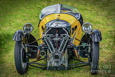 Wheeler Photograph - Morgan 3 Wheeler by Adrian Evans