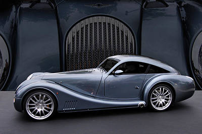 Cars And Coffee Photograph - Morgan Aero Coupe by Bill Dutting